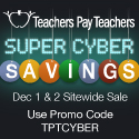 Countdown to Super Cyber Savings on TpT!